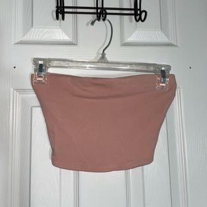 Pink H&M tube top